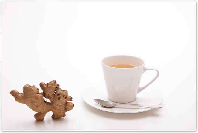 冷え性対策に効果がある生姜や紅茶